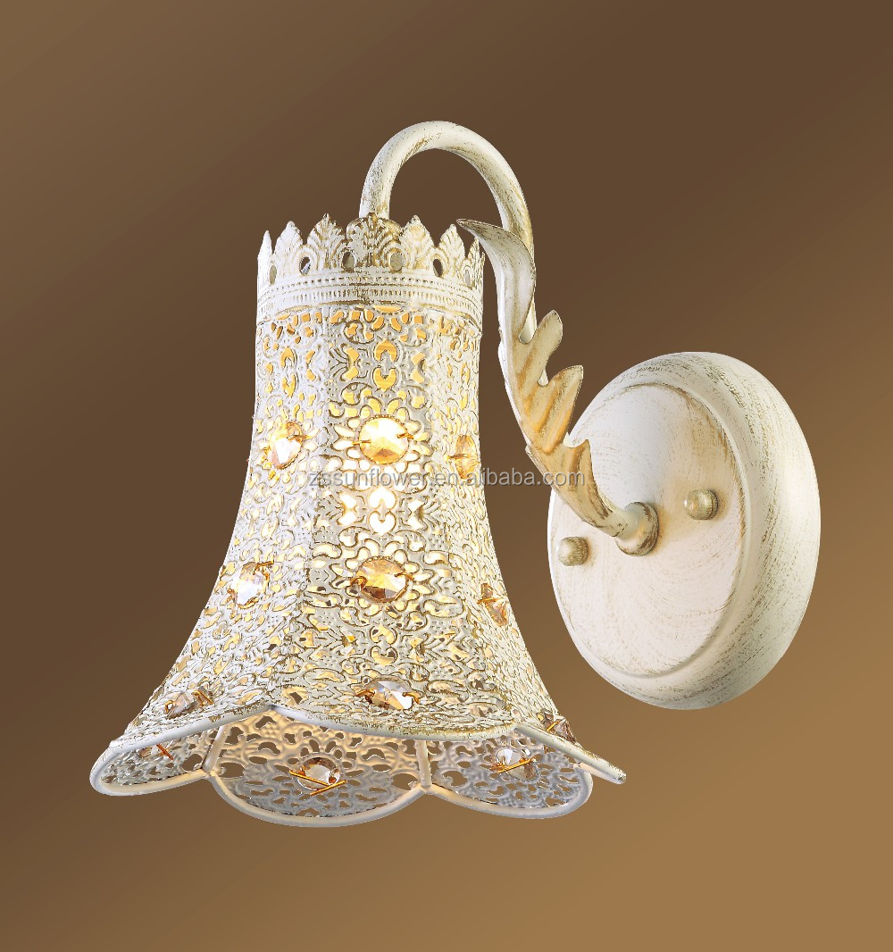 cast iron wall lamp fancy light for mosque decoration