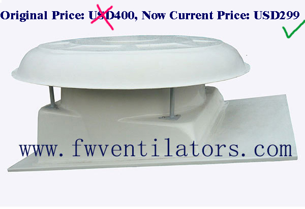 high temperature industrial roof ventilation fan / energy-saving roof extractor fan