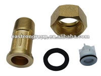 water meter couplings , nuts and plastic non-return valve
