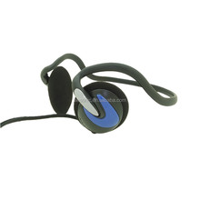 High Quality CE/ROHS Slim Neckband Headset With Mic And Volume Control For Laptop Computer