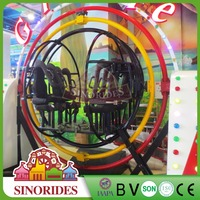 Speed adjustable face to face orbitronics gyro loop rides for sale