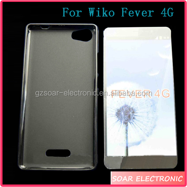 Case For Wiko Fever 4G, Transparent TPU Case For Wiko Fever 4G Gel Cover