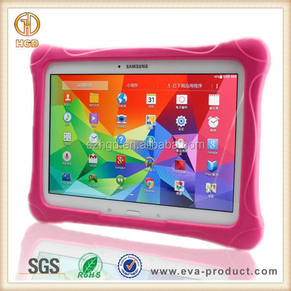 For Samsung Galaxy Tab4 10.1 Child Safe Hard Plastic Back Cover Case