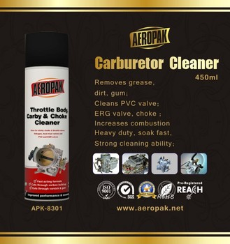 Aeropak Carby and Chock Carb Cleaner