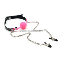smspade 42mm Adult Novelty Toys Soft Bondage mouth Ball Gags Mouth Gags bondage gag