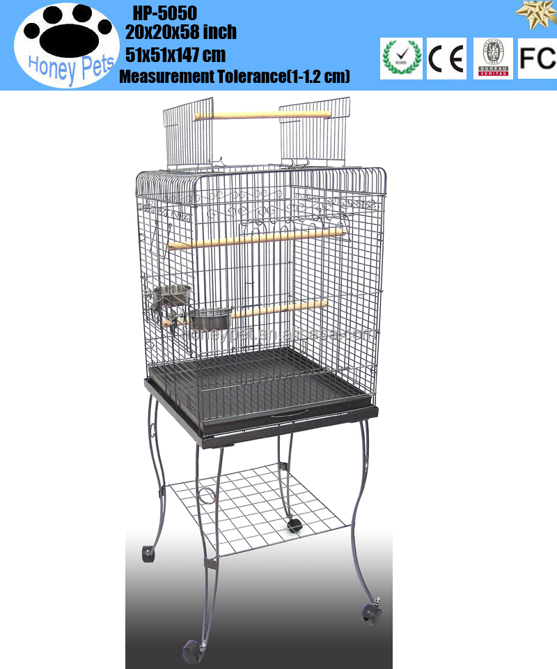 Pet Play Top Parrot Cockatiel Cockatoo Parakeet Finches parrot breeding cages