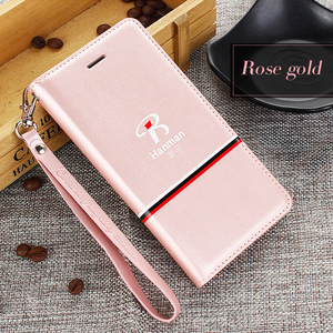 2017 china factory latest custom luxury best selling genuine pu leather flip mobile cell phone accessories cover case for iphone