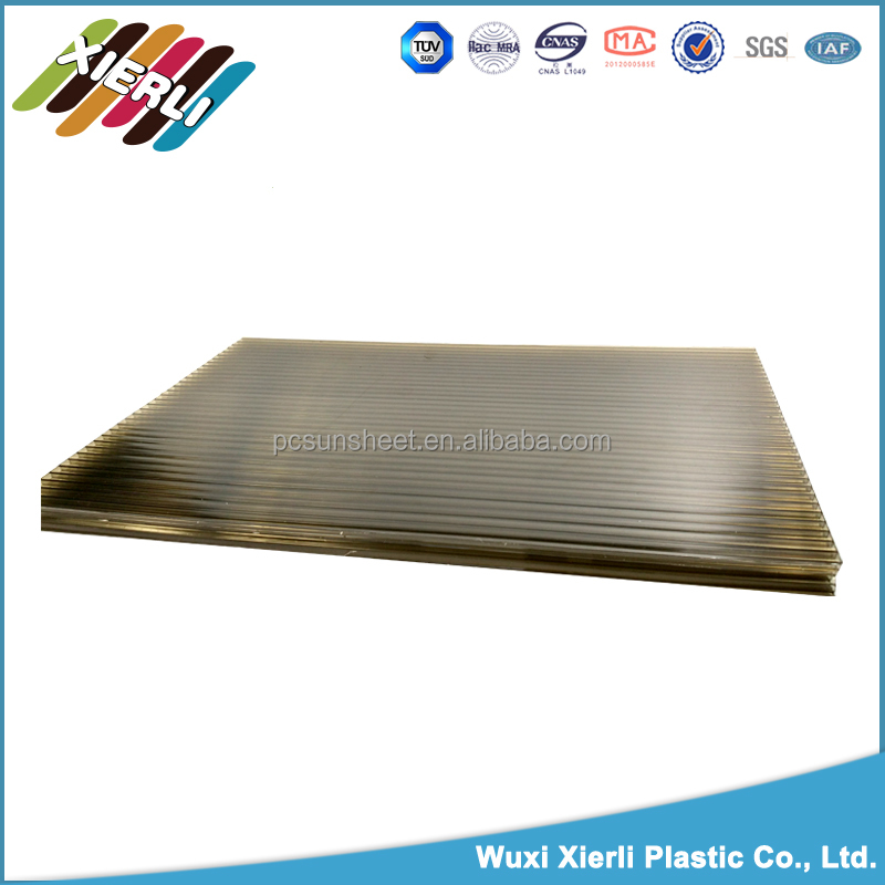insulated 3mm polycarbonate plastic honeycomb sheet
