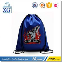 High performance different patterns decorative drawstring bag with zipper