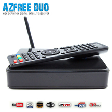 2016 New azfree duo with sks iks free and support iptv 3G satellite receiver South America