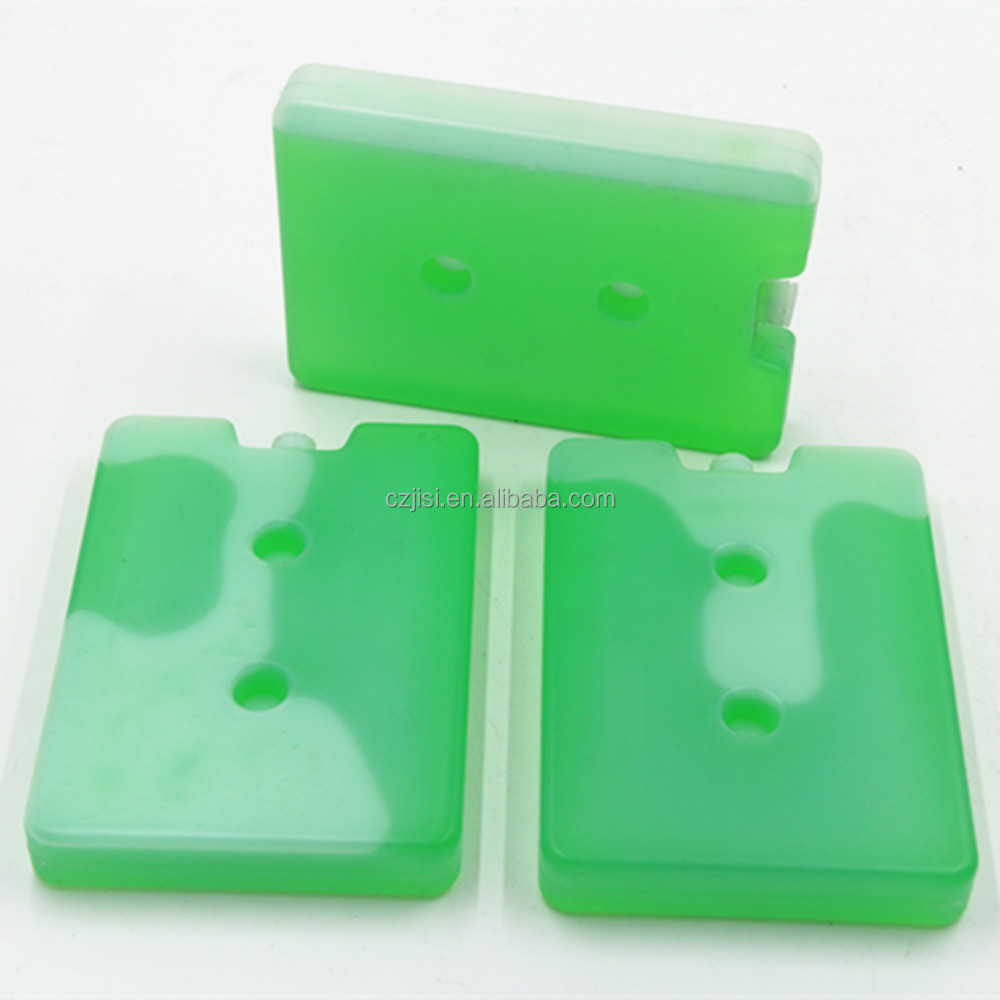 Reusable Durable PE Plastic Rigid gel ice pack for insulin