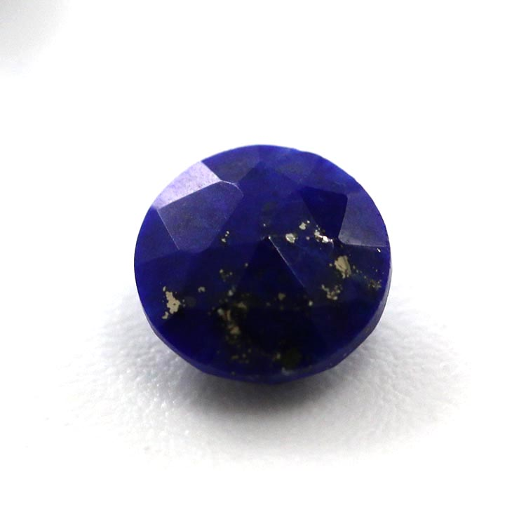 top quality natural round blue color lapis lazuli gemstone