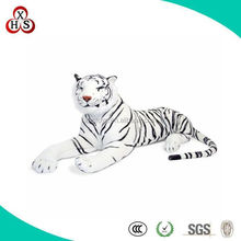 OEM Custom Design Plush Tiger White