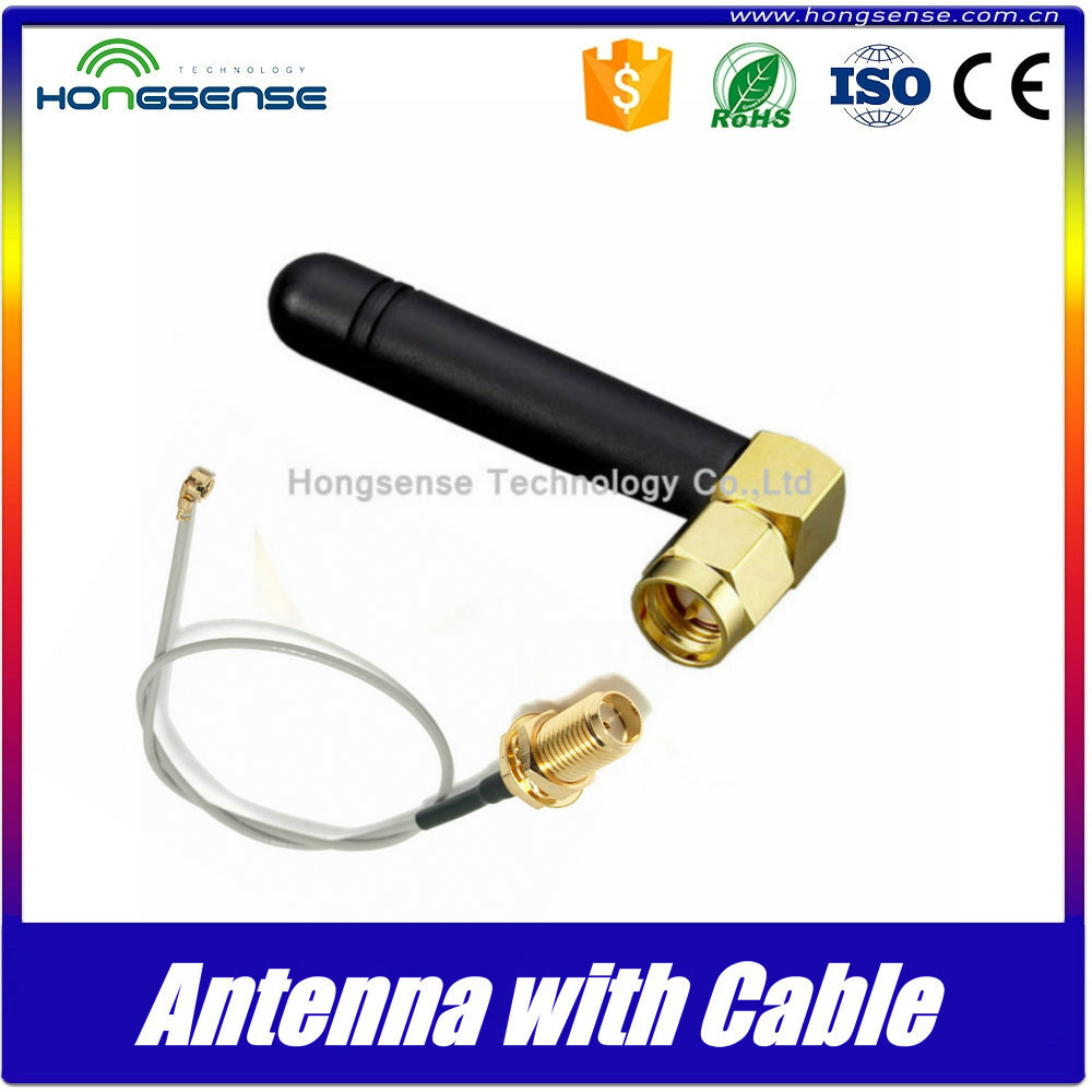 High gain omni directional antenna 433mhz with cable for PCB signal booster