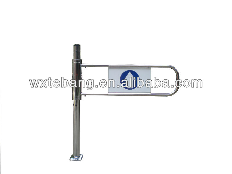 Mechanical supermarket entry gate, supermarket access control gate by CE