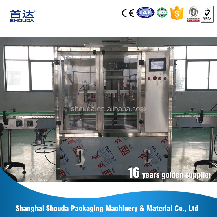 Customized liquid detergent filling machine suitable for all kinds of materials