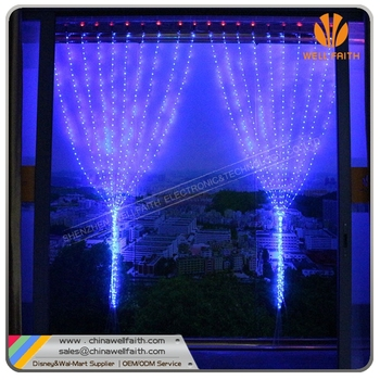 New Patented Christmas Decorative Light String, Led Curtain Lights