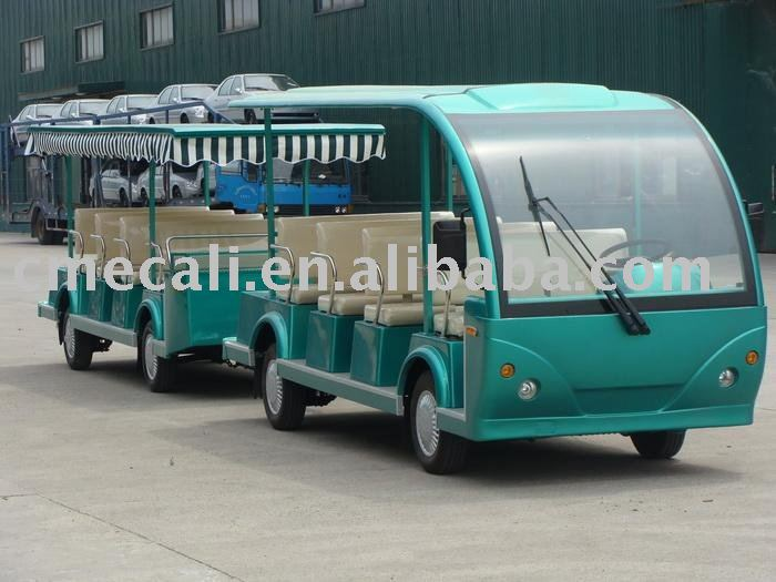 Electric Bus with Trailer