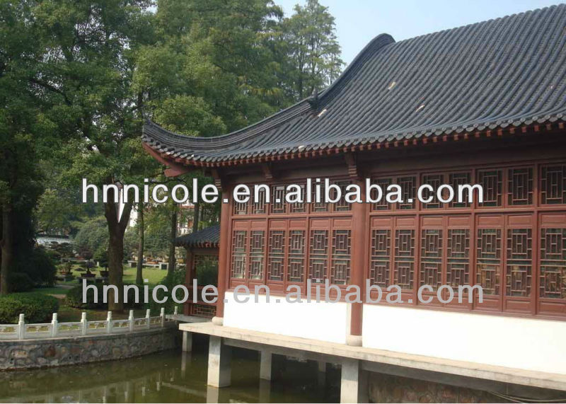 chinese antique asphalt polycarbonate skylight roofing