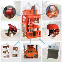 HBY1-10 soil block machine price cement/clay/concrete brick making machine
