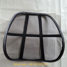 CE/FDA approved high quality car mesh backrest seat cusion back lumbar support