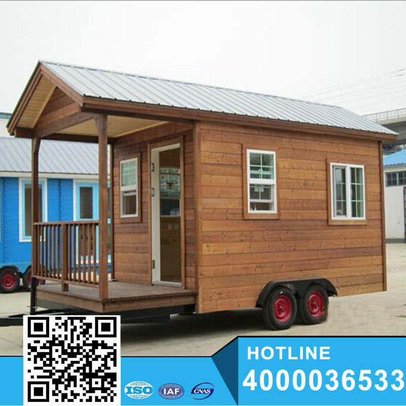 Yuke low cost mobile house/small mobile home/mobile house trailers for sale