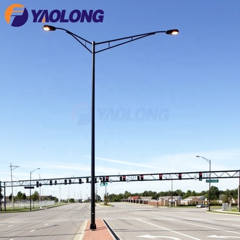 strong typhoon resistant aluminum spun 7m street light pole/street light pole specifications india