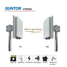 OFDM 802.11 2T2R mimo 5km wireless repeater bridge