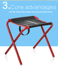 Factory Direct Selling High Quality Cheap Picnic Portable Metal Camping Folding Chair
