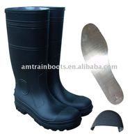 pvc safety boots w/o steel toe