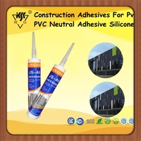 Construction Adhesives For Pvc/ PVC Neutral Adhesive Silicone