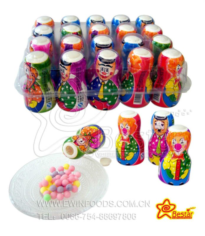 Different Image Tumbler Toy Candy