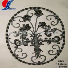wrought iron fence panel rosettes for sale