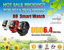 Modern most popular wifi gps 3g watch mobile phone