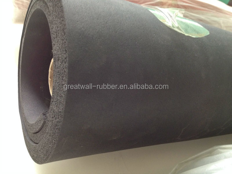 High flexibility ,excellent shock absorption Extrusion Sponge Rubber Sheet