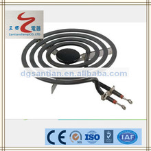 santian heating element Professional manufacturer resistive heating coils electric stoved coil heater Electric heating product