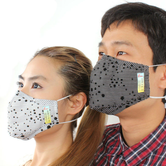 Reusable facial cloth surgical mask/ printed mouth mask/ allergy mask