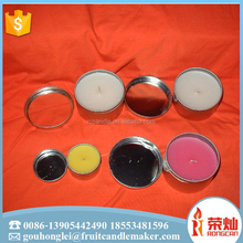 Wholesale soy wax shea butter low temperature ramance massage oil candle in glass jar