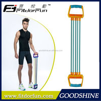 Feva Expander-High Quality Highly durable Colorful Adjustable Rubber Leg Exercise Port Chest Expander Types Designer