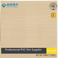 Fashion Pine Wood Decoration PVC Film