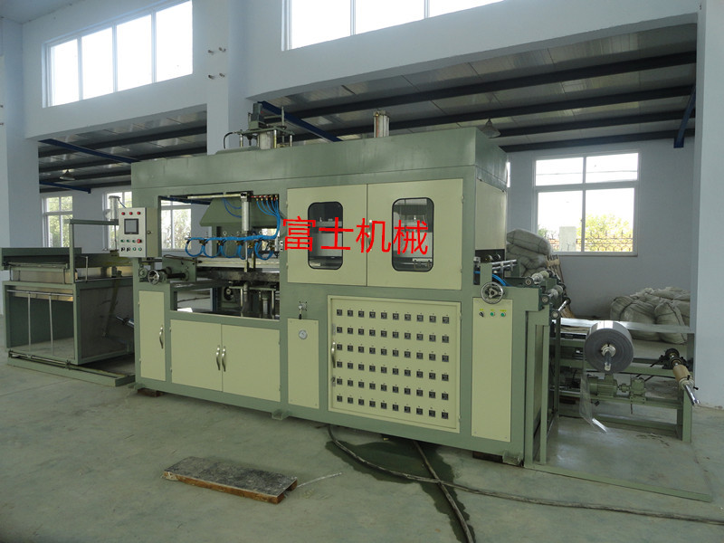 plastic mould thermoforming machine with CE for making plastic trays