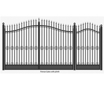 Gate Photos / Wrought Iron / Wood & Iron Gates