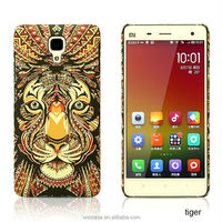 Luminous hard attractive 3D images phone case for iphone case for Sony Z2/Z3