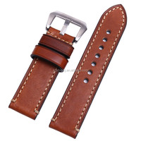 professional manufacturer watch strap band genuine calf leather