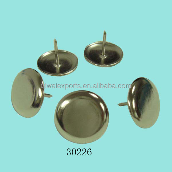 Wholesale Chrome Plated Furniture Decorative Nail Pins for Upholstery