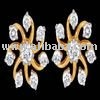 Diamond Gold Earring