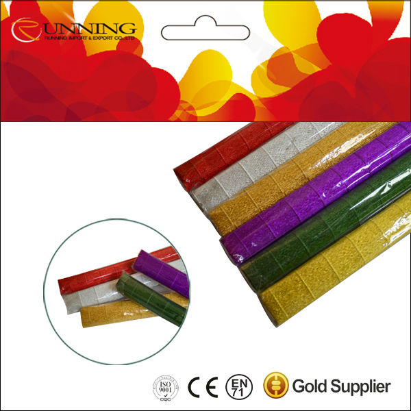 various design colorful creped paper