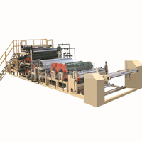 Full automatic 3200mm wide PVC film lamination machine