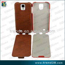 Flip cold setting PU Leather case for Samsung Galaxy S4 i9500