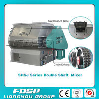 SHSJ Double Shaft Livestock Feed Mixers For Sale